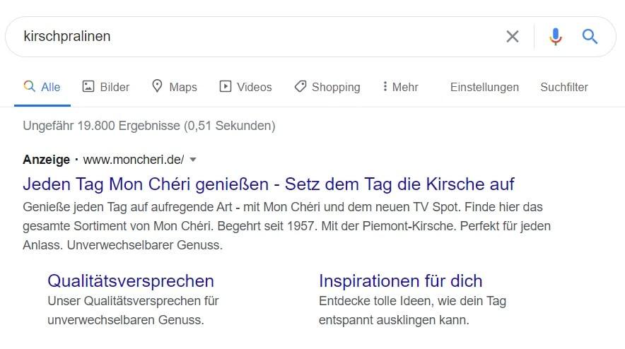 Google-Ads-Suchergebnis