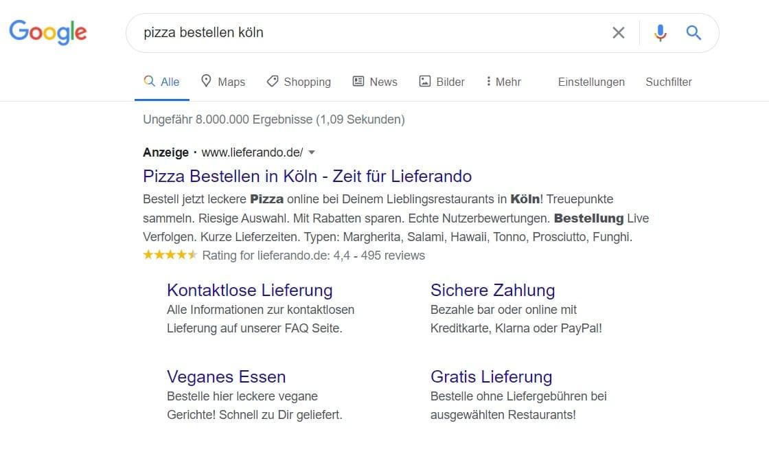 google-ads-sitelinks